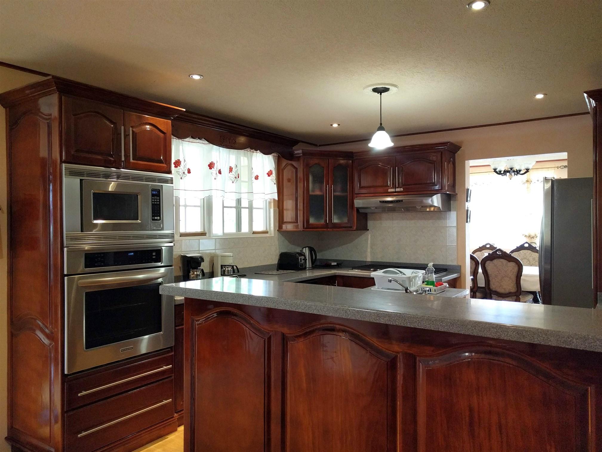 Kitchen, Mount Standfast, St. James