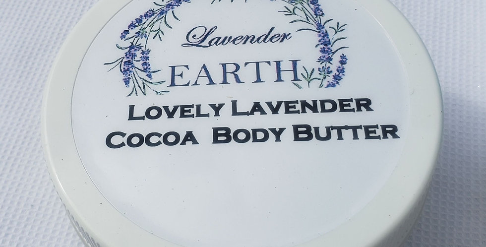 Lovely Lavender Shea Cocoa Body Butter