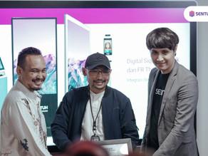Sentuh Digital Teknologi Resmikan Representative Showroom di Bandung!