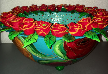 Copy of bowl with roses, dec. 2018.