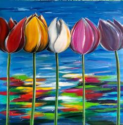 schilderij met 5 tulpen.jpg