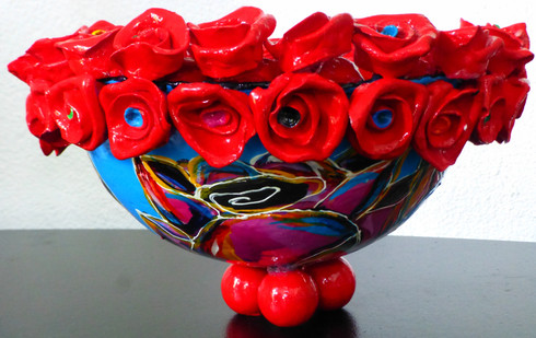Copy of bowl with roses, Sept. 2