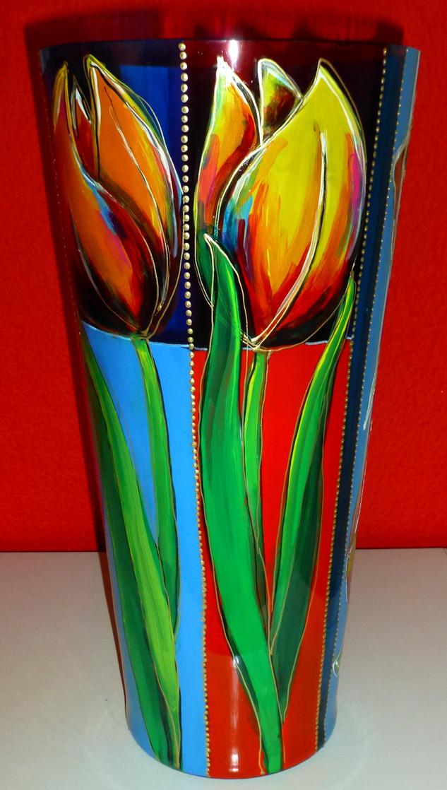 vase (40 cm high) with tulip silk.jpg