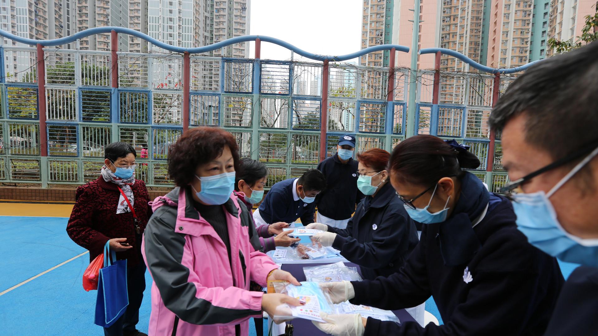 慈善 社區活動 2020年1-3月社區派防疫物資