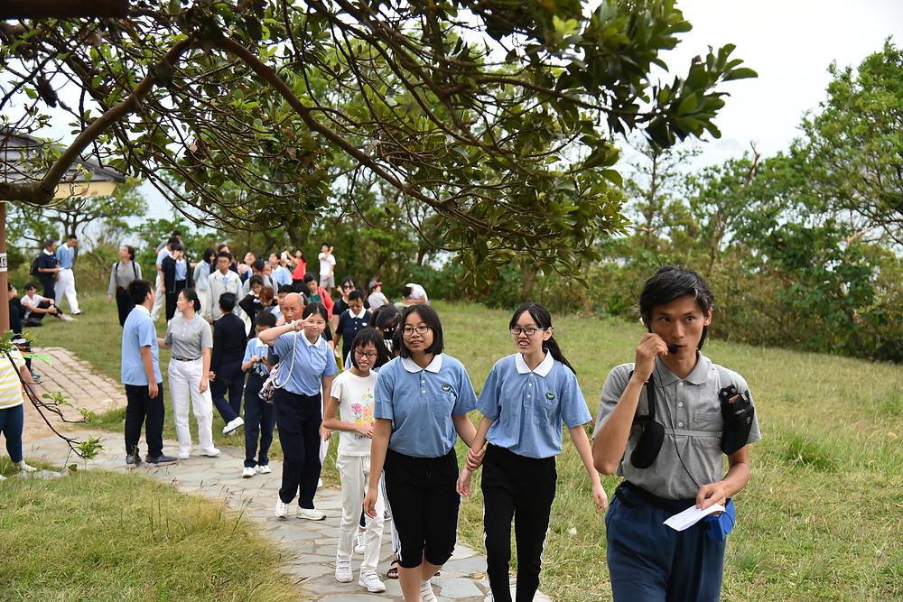慈少班的課程則在清水灣大澳門郊野公園舉行  攝影/李健平
