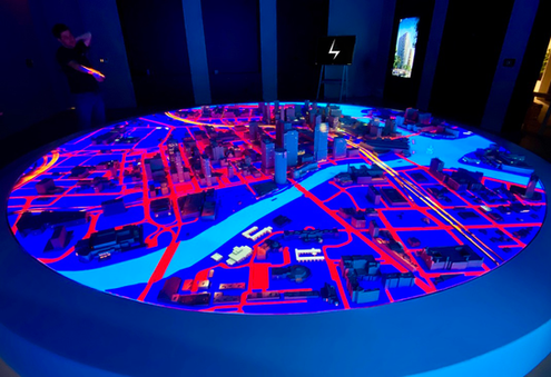 SPP Water Street Tampa Projection Mapped