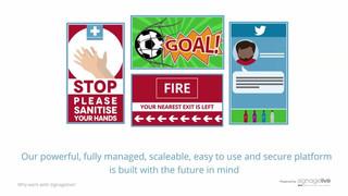 Signagelive Digital Signage Platform