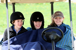 In-the-golf-cart