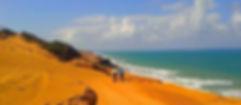 Cicloturismo praias, chegada na Pipa, 6º dia entre Maceio e Natal