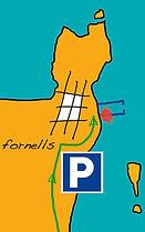 mapa de fornells