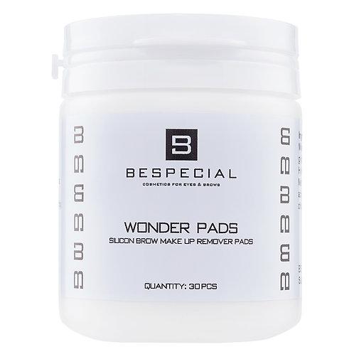 Силиконовые диски для снятия макияжа с бровей Wonder Pads (30 штук)