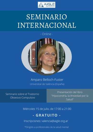SEMINARIO INTERNACIONAL AMPARO BELLOCH