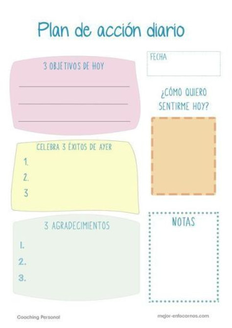 Pinterest has great graphs and organizers in Spanish.