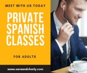 spanish classes private online