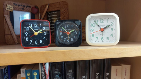 Small clocks