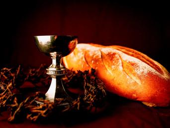 يسوع: هذا هو جسدي. هذا دمي.