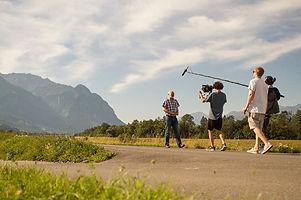 Filmproduktion tonaufnahme boom operator audio mixer Innsbruck Tirol Österreich