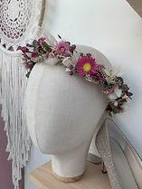 Trockenblumenkranz Hochzeit