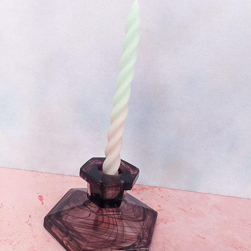 Smokey Mist Candlestick (2 Available)