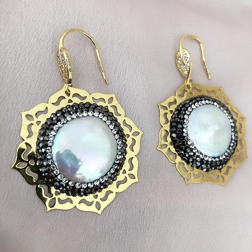 Anita Mother Of Pearl Earrings