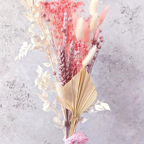 Cupid's Kiss Dried Flower Bouquet