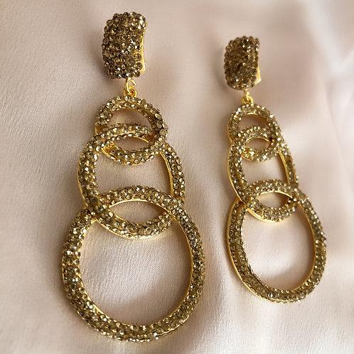 Downtown Earrings - Gold