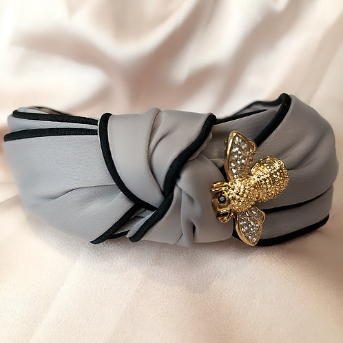 Silk Golden Bee - Grey