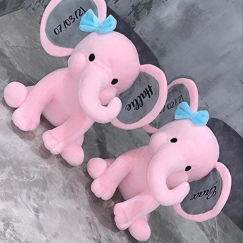 Personlised Elephant Teddy