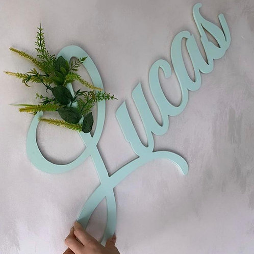 Jungle Personalised Large Wooden Name Signs
