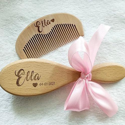 Set of Comb & Brush