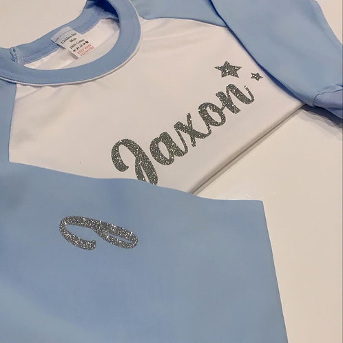 Boys Personalised Crafter Cotton PJ Set