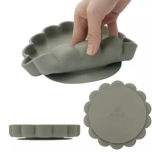 silicone suction plate set