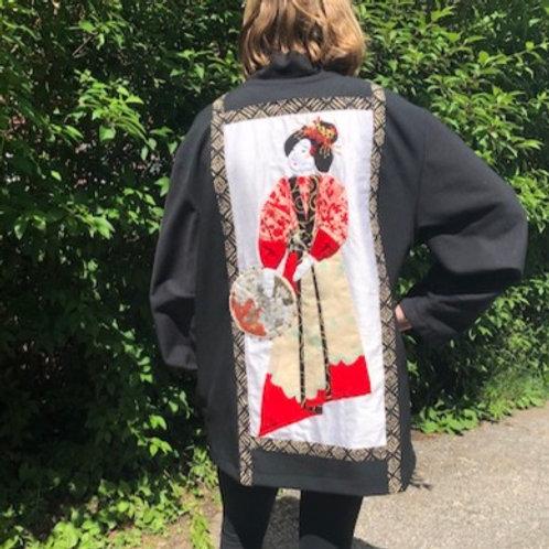 Red Geisha Girl Jacket