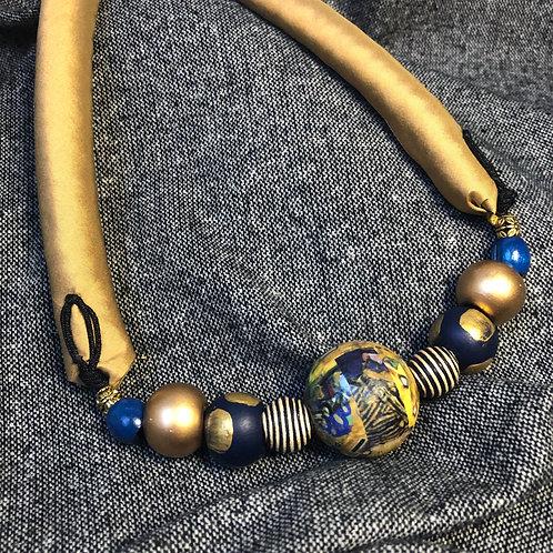 Klimt Sphere Necklace