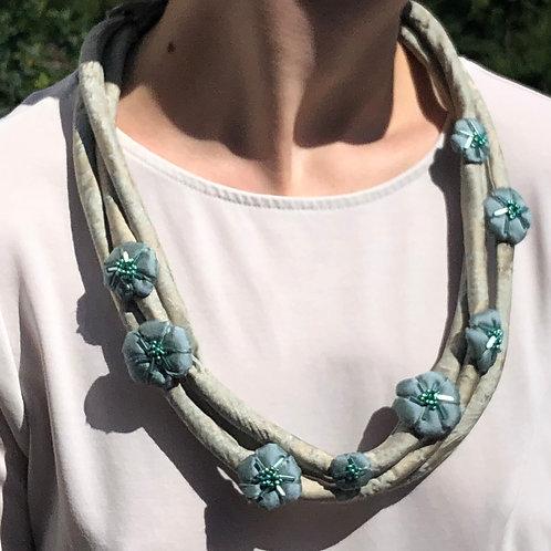 Multi-Strand Umo Blossom Necklace