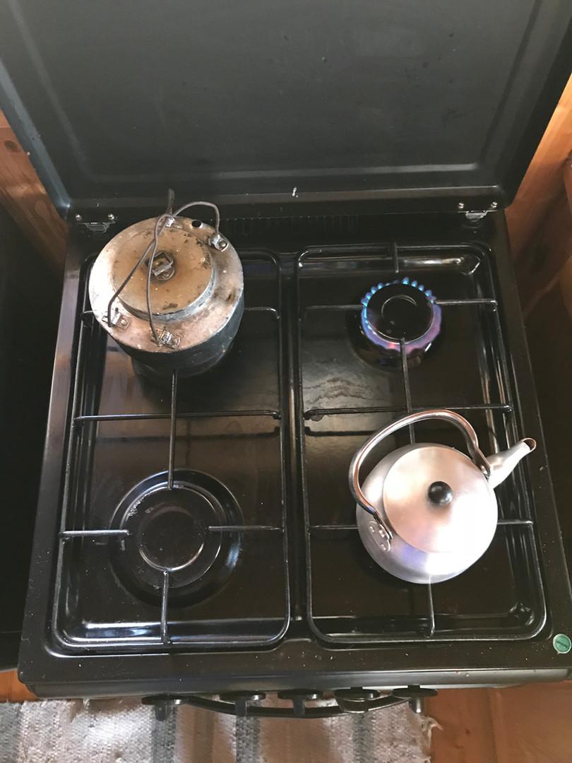Gas ovn til mat laging