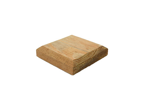 75mmx75mm Timber fence post cap.