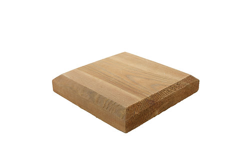 100mm x 100mmTimber fence post cap