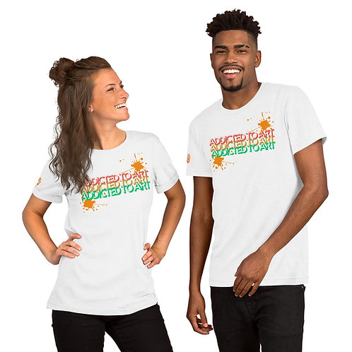 Addicted To Art Unisex T-Shirt