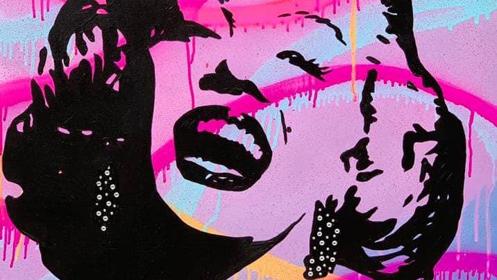 Pink Marilyn
