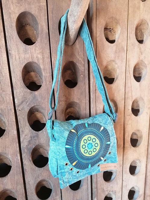 MACHA sac bandoulière coton JM01 BLUE