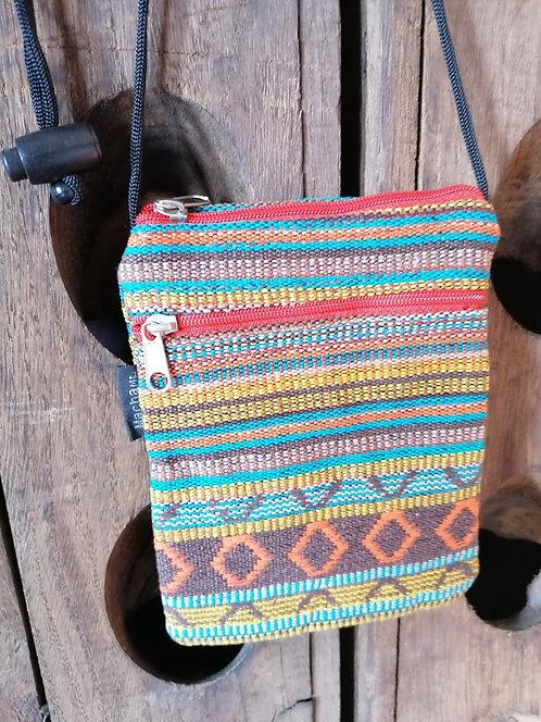 MACHA pochette bandoulière coton KI178 BROWN