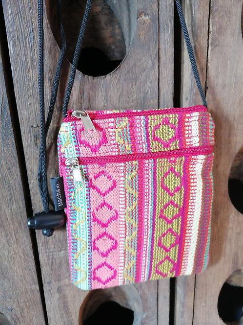 MACHA pochette bandoulière coton KI178 ROSE