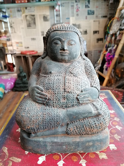 Bouddha Bronze 21cm import Thaïlande