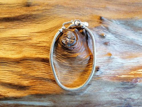Bracelet Snake Argent 19cm