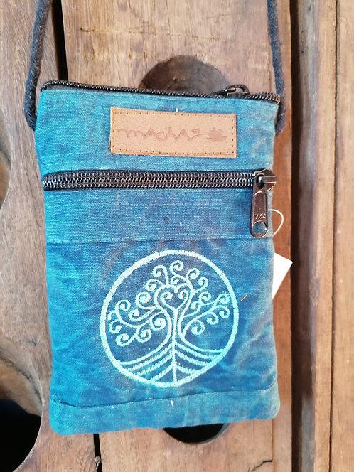 MACHA pochette bandoulière coton KI3008A BLUE