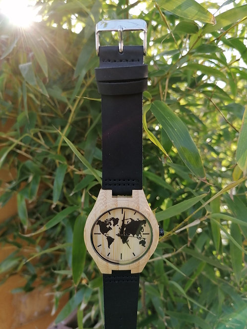 Montre Bambou MB12