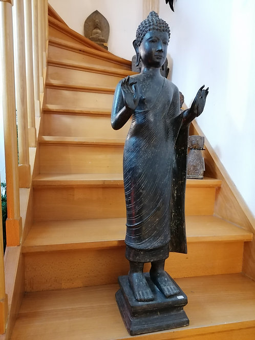 Bouddha Bronze 94cm import Thaïlande