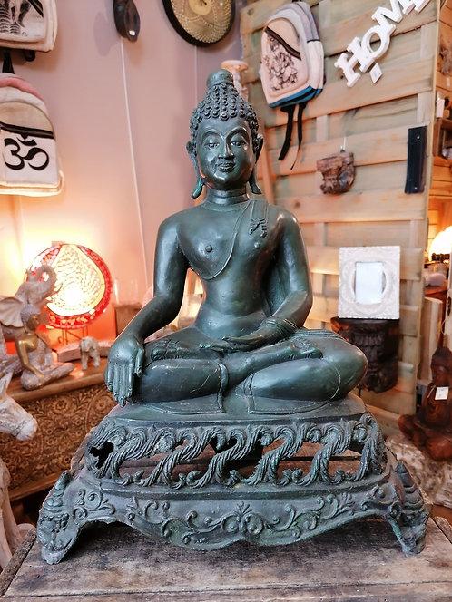 Bouddha Bronze 40cm import Inde