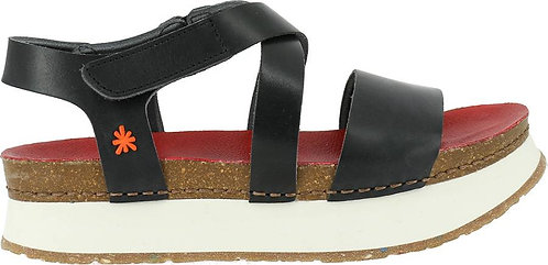 The Art Company 0587 Mykonos Mojave Vachetta BLACK-RED